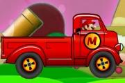 With Mario Driving a Truck