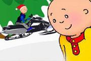 Caillou and Ski Engine