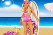 Lovely Beach Barbie