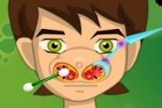 Ben 10 At The Doctor's Nose