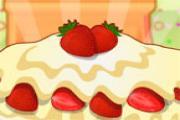 Çilekli Kremalı Kek