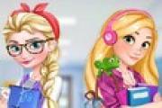 Elsa ve Rapunzel