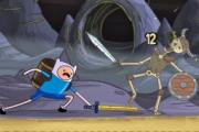 Finn and Jake Skeleton Battle