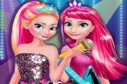 Elsa and Anna Rock Group