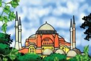 Mosque Coloring 2