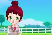 Sevimli Çiftlik Kızı