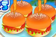 Mini Burgers Making